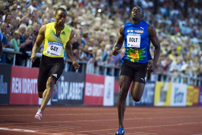Tyson Gay, Usain Bolt, Athlétisme