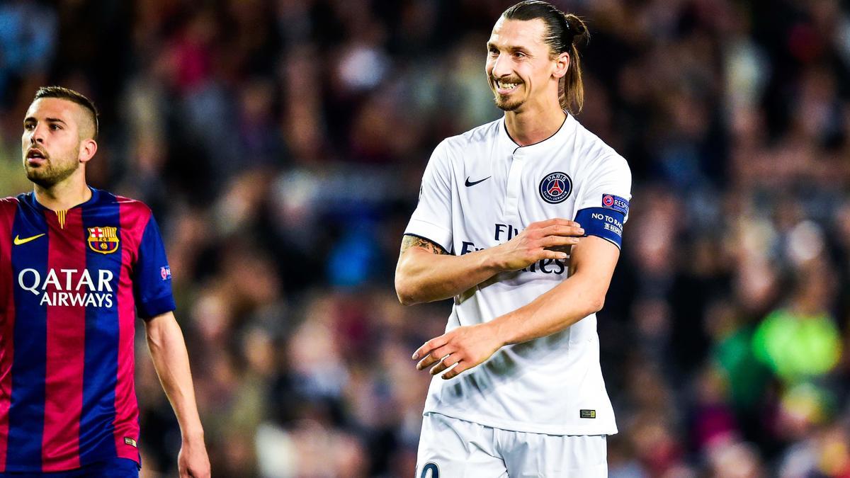 Zlatan Ibrahimovic juge le niveau du PSG sans lui