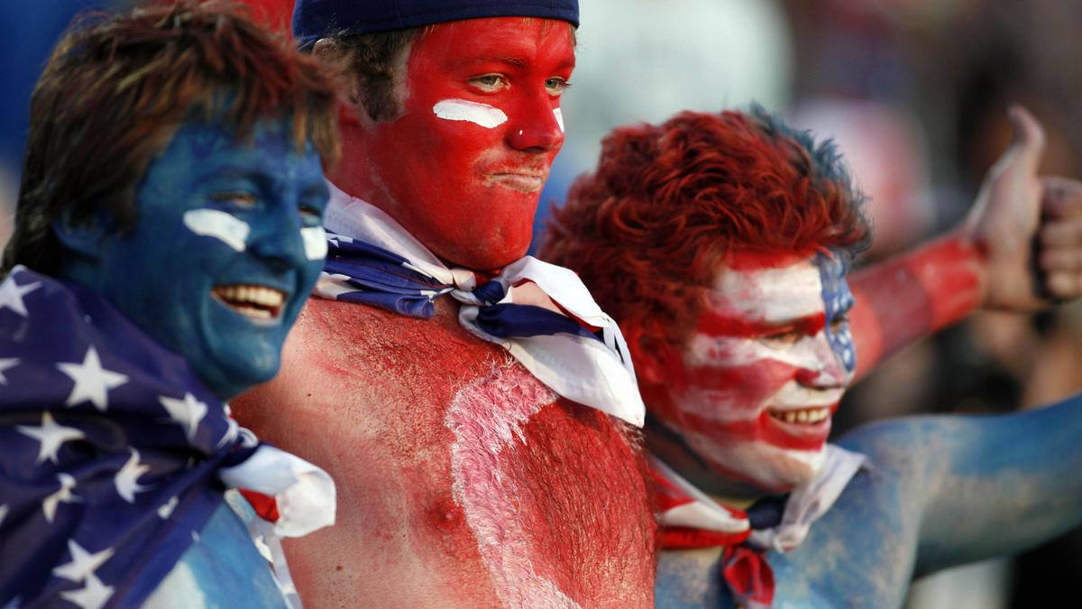 Supporters des U.S.A.