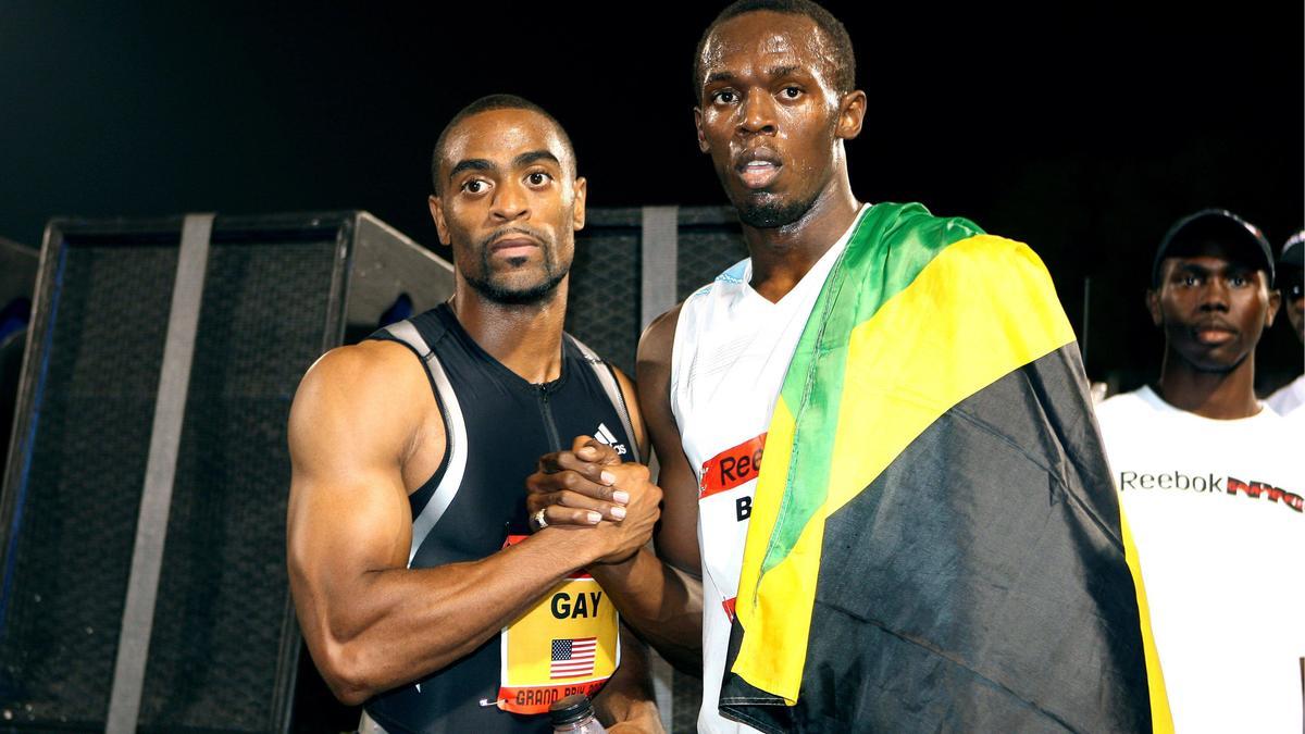 Tyson Gay & Usain Bolt