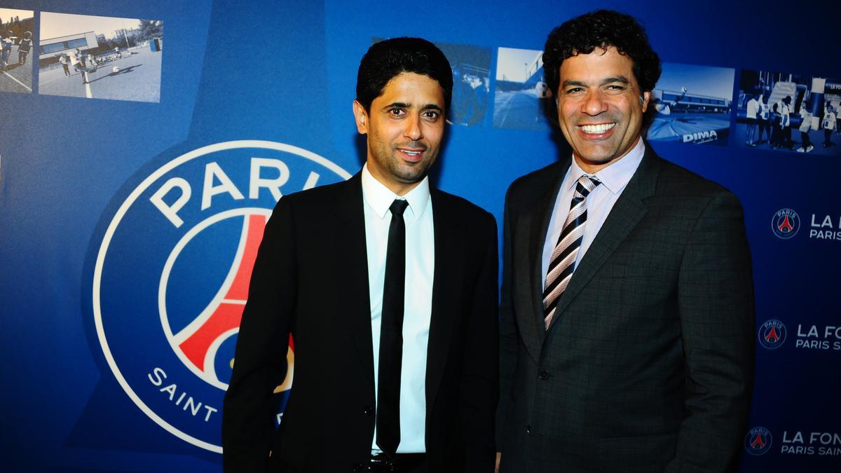 Nasser Al-Khelaïfi & Raï