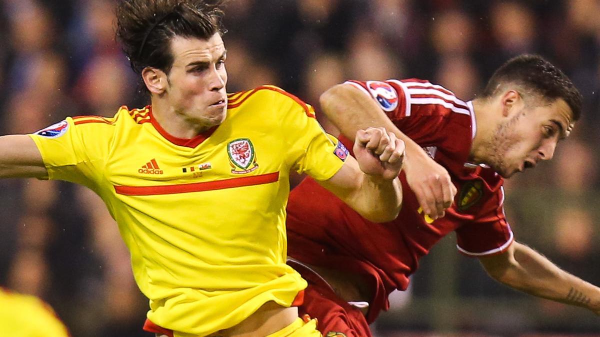 Gareth Bale & Eden Hazard