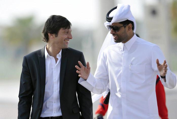 Leonardo, Nasser Al-Khelaïfi, PSG