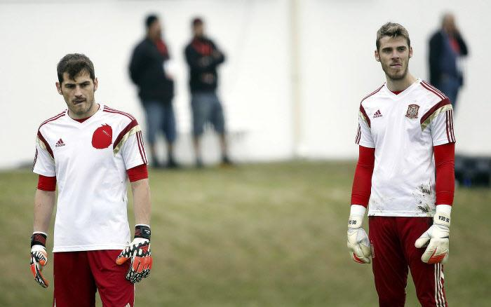 David De Gea, Iker Casillas