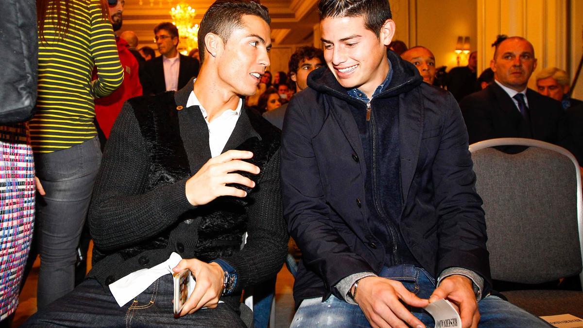 Cristiano Ronaldo et James Rodriguez, Real Madrid