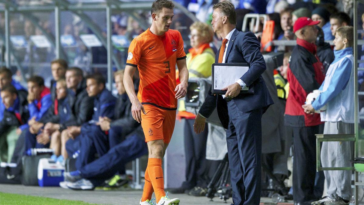 Stefan De Vrij et Louis Van Gaal, Pays Bas
