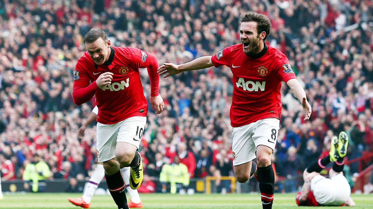 Wayne Rooney & Juan Mata, Manchester United