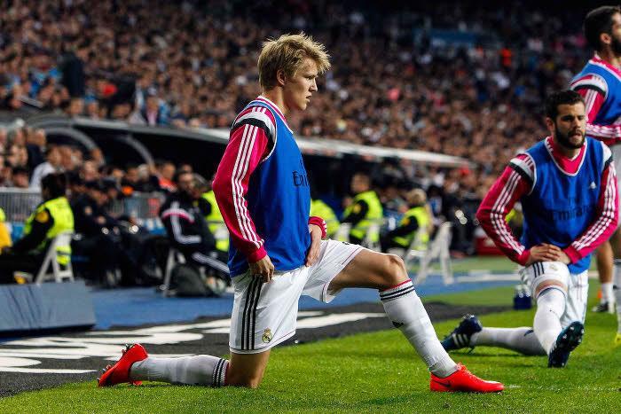Martin Odegaard, Real Madrid