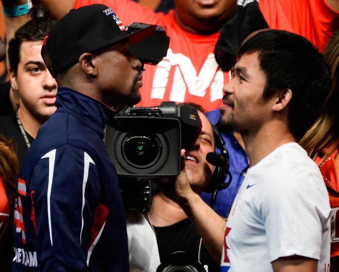 Floyd Mayweather, Manny Pacquiao, Boxe