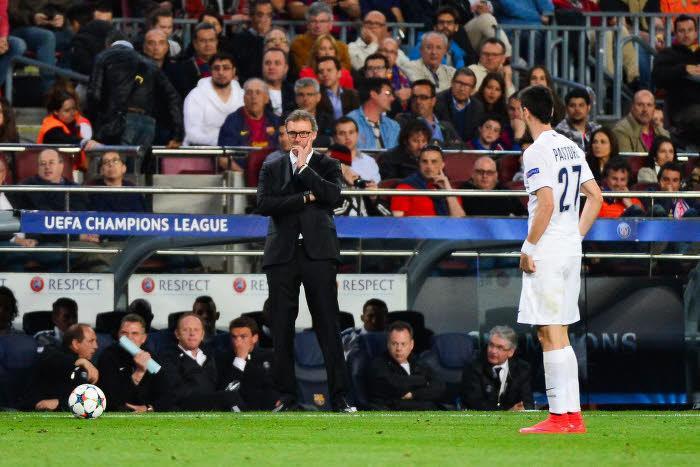 Javier Pastore, Laurent Blanc, PSG