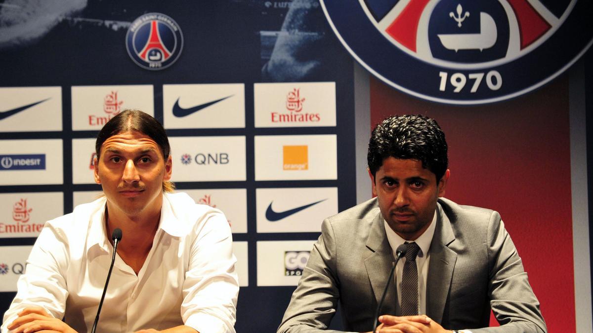 Nasser Al-Khelaïfi - Zlatan Ibrahimovic, PSG