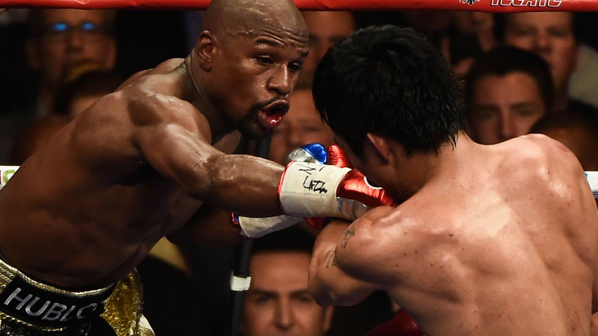 Boxe : Floyd Mayweather pr�t � offrir une revanche � Manny Pacquiao