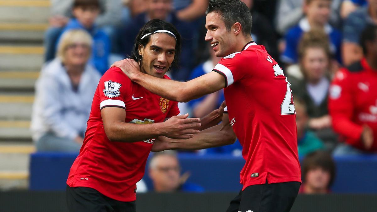 Radamel Falcao et Robin Van Persie, Manchester United