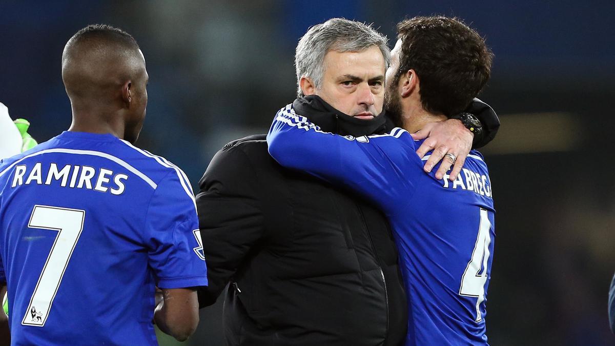 José Mourinho et Cesc Fabregas, Chelsea