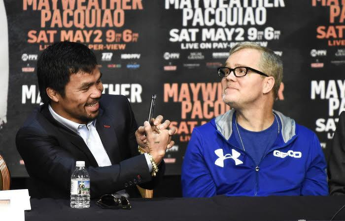 Manny Pacquiao, Freddie Roach, Boxe