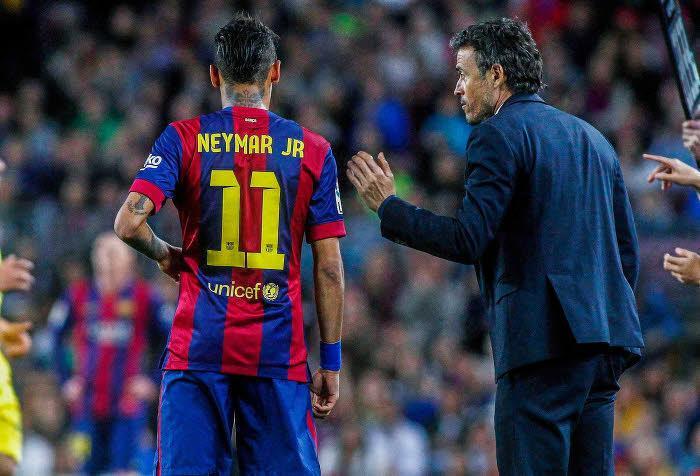 Neymar, Luis Enrique, FC Barcelone