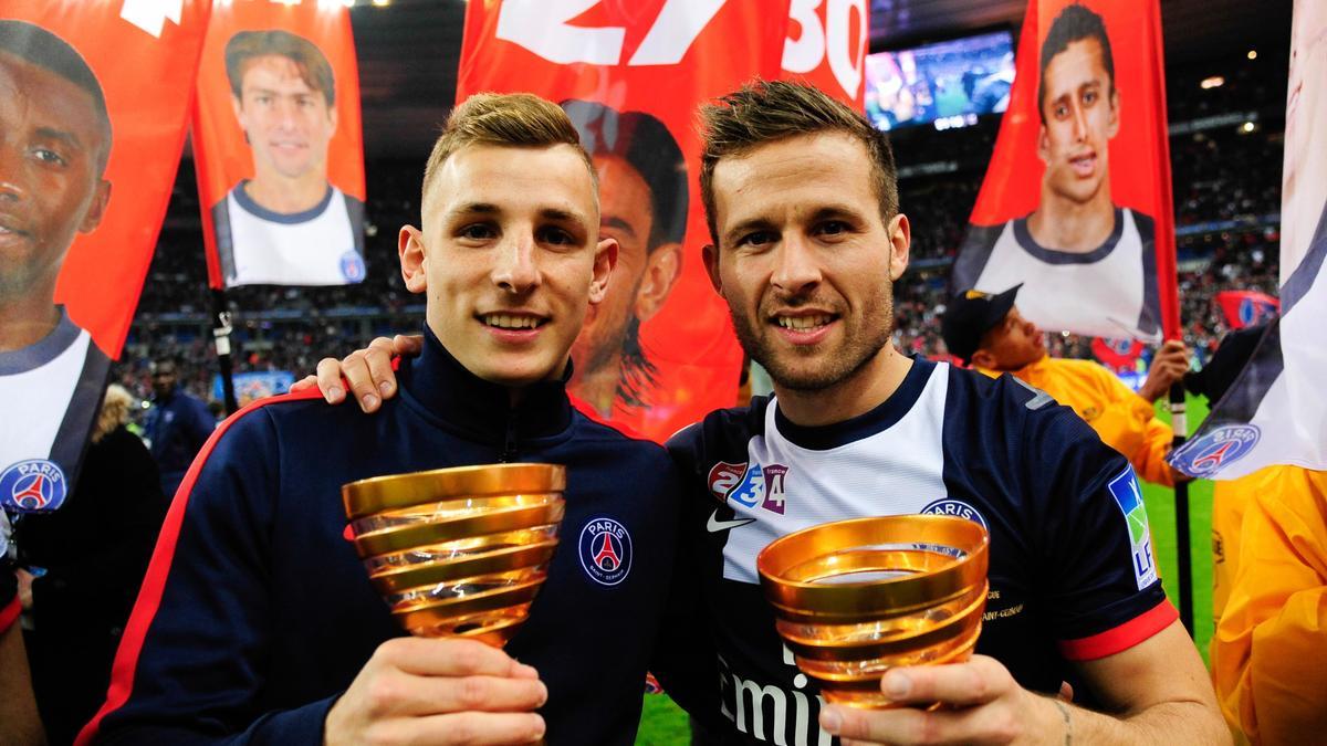Lucas Digne & Yohan Cabaye, PSG