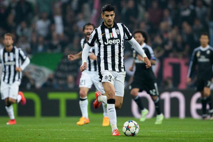 Alvaro Morata, Juventus Turin