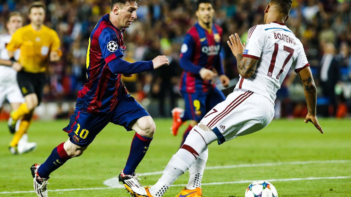 Jérome boateng, Bayern Munich, Lionel Messi, Barcelone