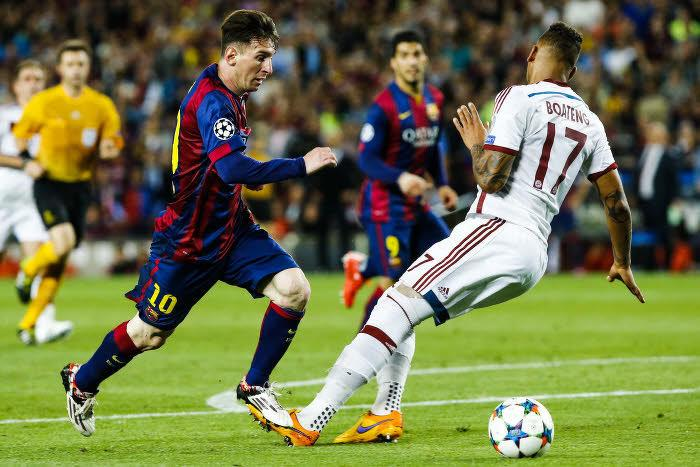 Lionel Messi, Jerome Boateng