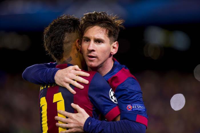 Neymar et Lionel Messi, Barcelone