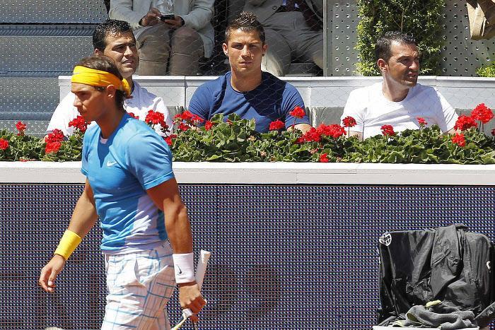 Rafael Nadal, Cristiano Ronaldo, Tennis
