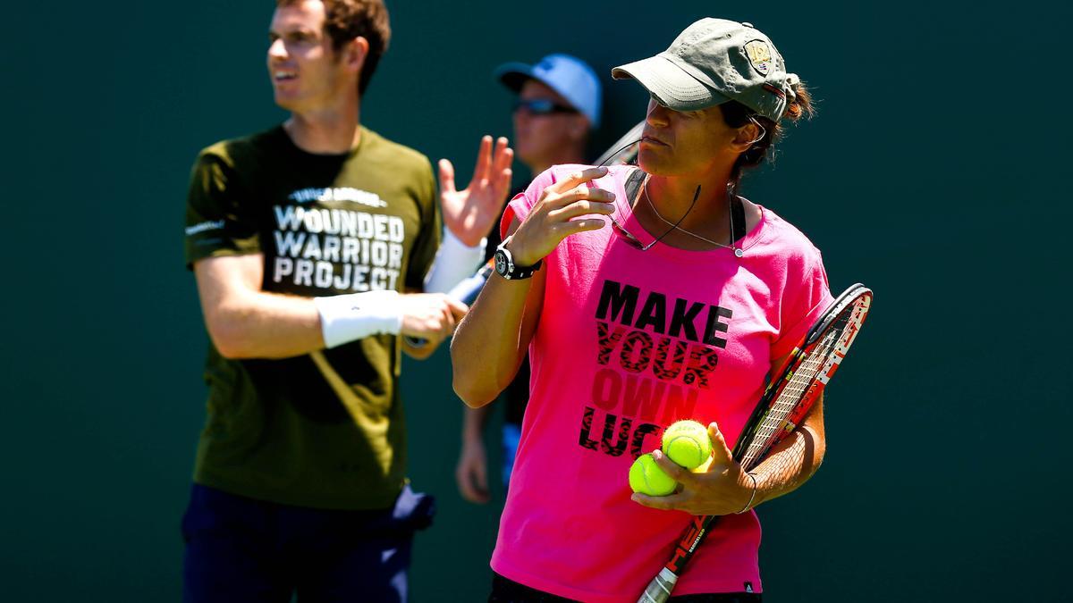 Tennis : Quand Andy Murray �voque la grossesse d'Am�lie Mauresmo !