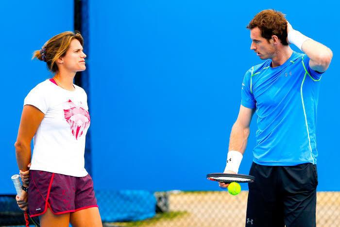 Tennis : Am�lie Mauresmo �voque les chances d'Andy Murray � Roland-Garros !