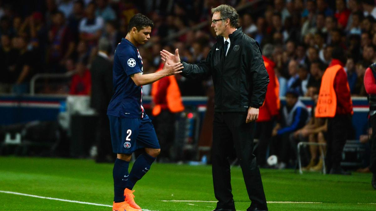 Thiago Silva fait le point sur la situation de Laurent Blanc