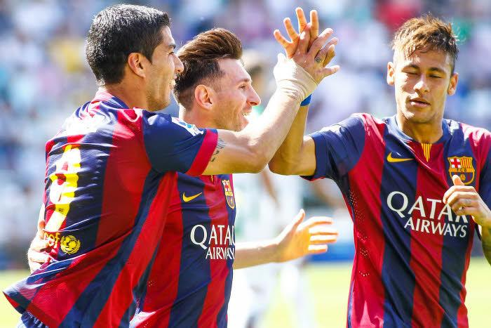 Quand Neymar est surpris de sa relation avec Messi et Suarez