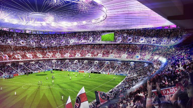 PSG: Ce projet pour un Parc des Princes à 75000places…