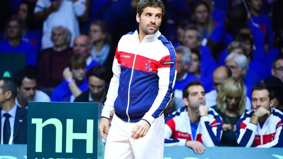 Tennis : Le constat d'Arnaud Cl�ment apr�s la d�faite en Coupe Davis !
