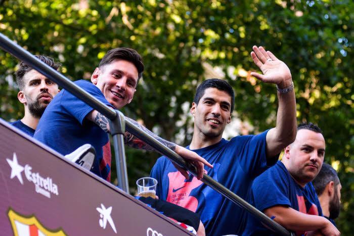 Messi, enfant… La scène insolite avec Luis Suarez aux Etats-Unis