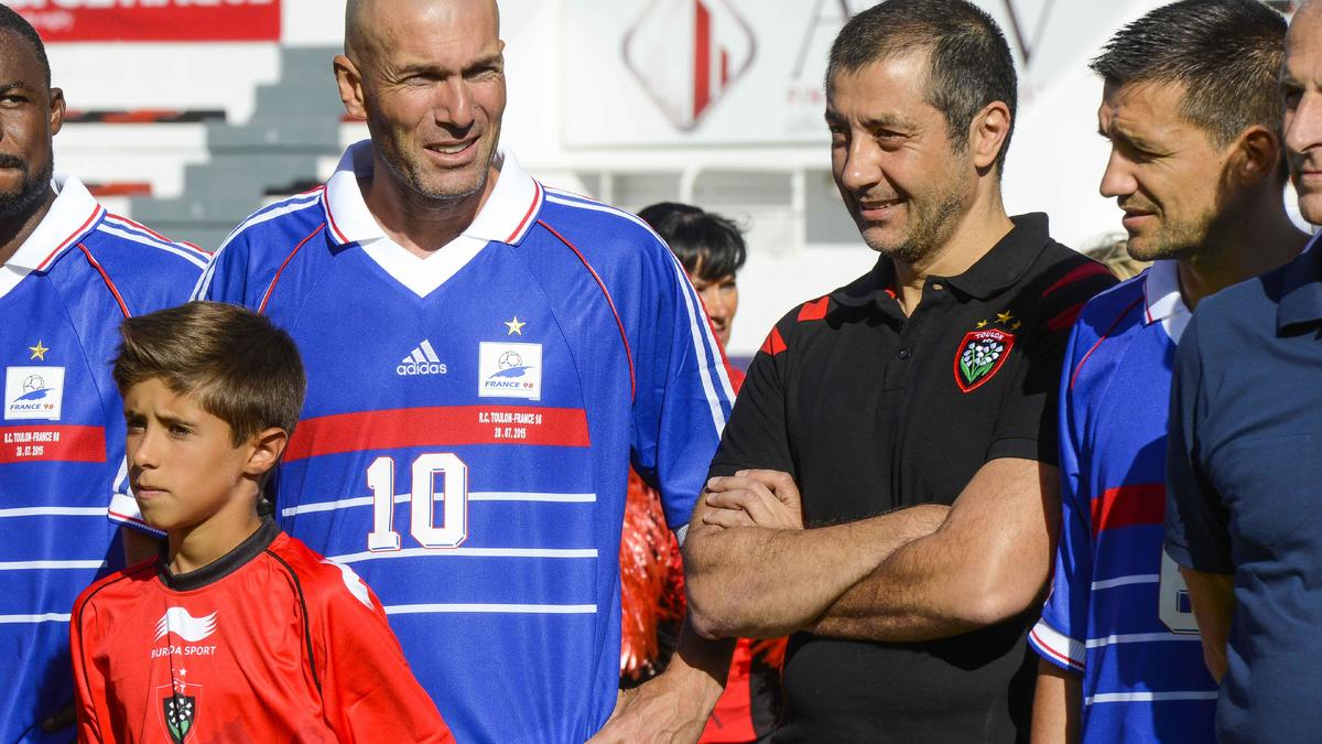 Rugby - Top 14 : Quand Zidane compare le Real Madrid… et le RC Toulon !