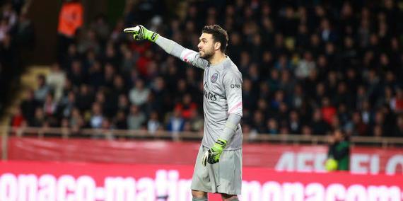 PSG : Les clubs où Sirigu pourrait rebondir lors du mercato hivernal