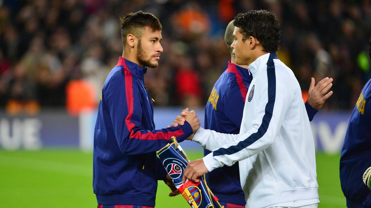 PSG : Thiago Silva a demandé à Neymar de venir au PSG