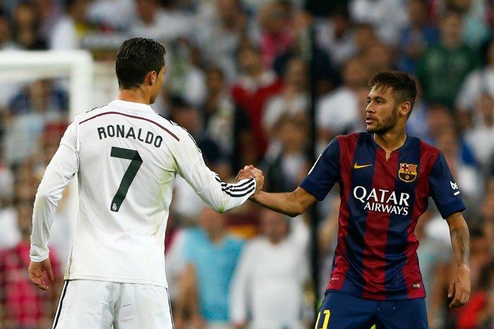 Le PSG h�siterait entre Cristiano Ronaldo et Neymar