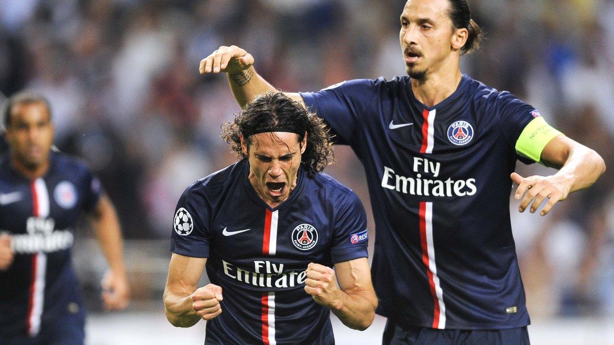 PSG : Zlatan Ibrahimovic se réjouit de son association avec Edinson Cavani