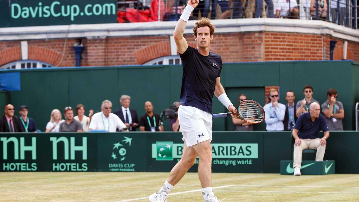 Tennis : Andy Murray annonce la naissance de l'enfant d'Am�lie Mauresmo !