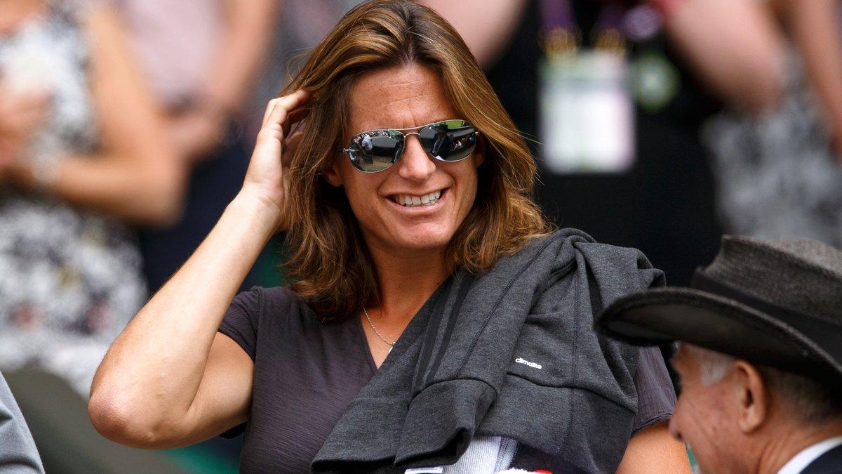 Tennis : Quand Am�lie Mauresmo pr�sente son enfant sur Twitter !