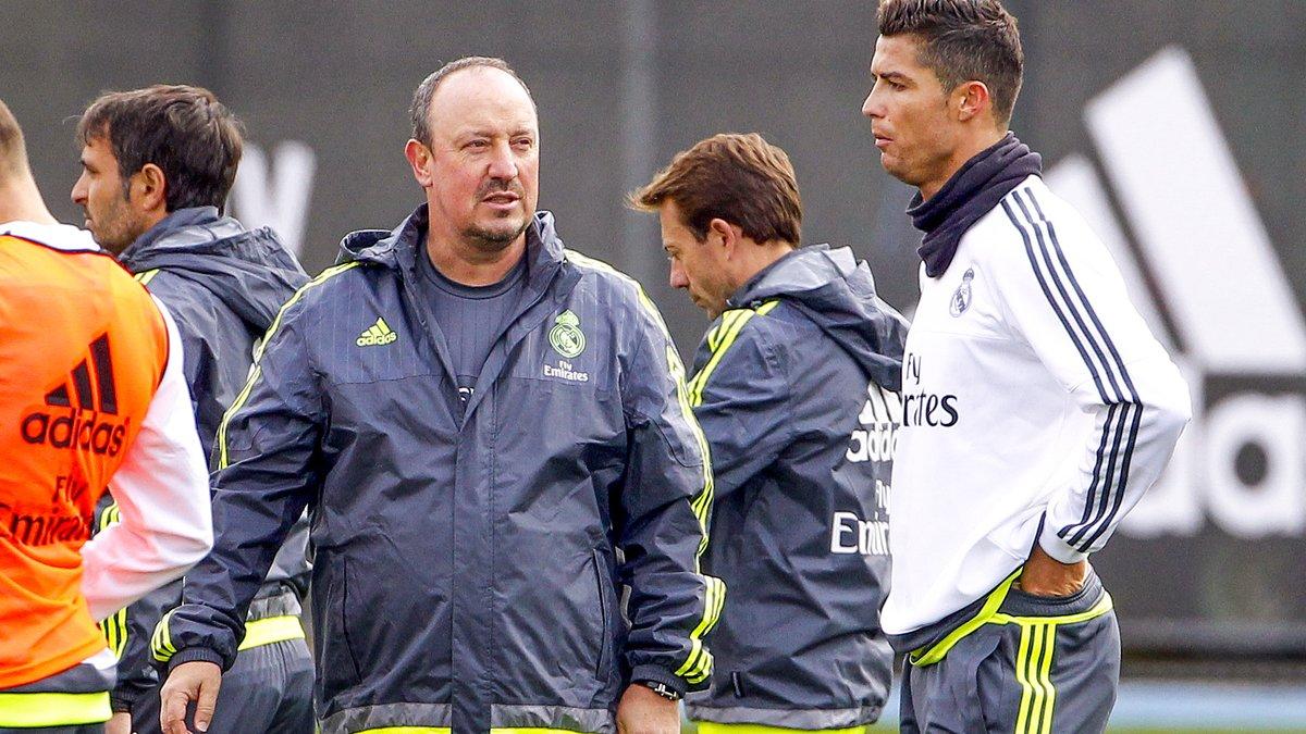 Real Madrid : Rafael Benitez réagit au geste polémique de Cristiano Ronaldo