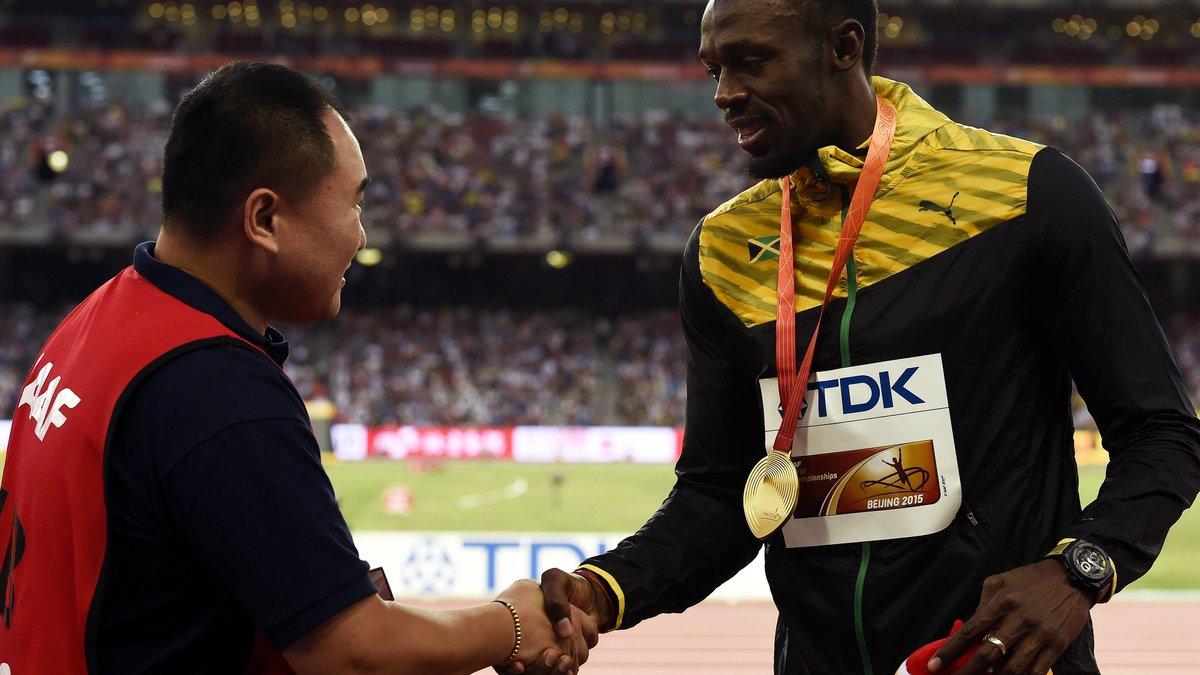 Athlétisme : Le caméraman qui a fait chuter Usain Bolt s