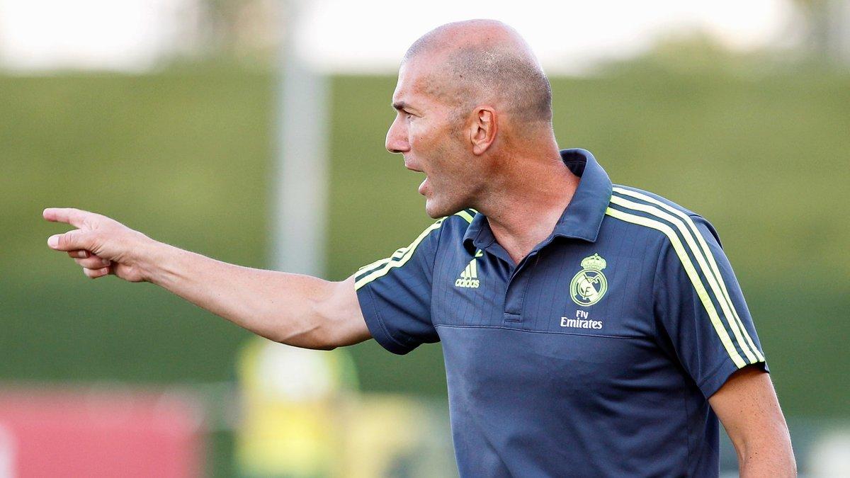 Real Madrid : Zinedine Zidane ne se voit pas prendre la place de Rafael Benitez