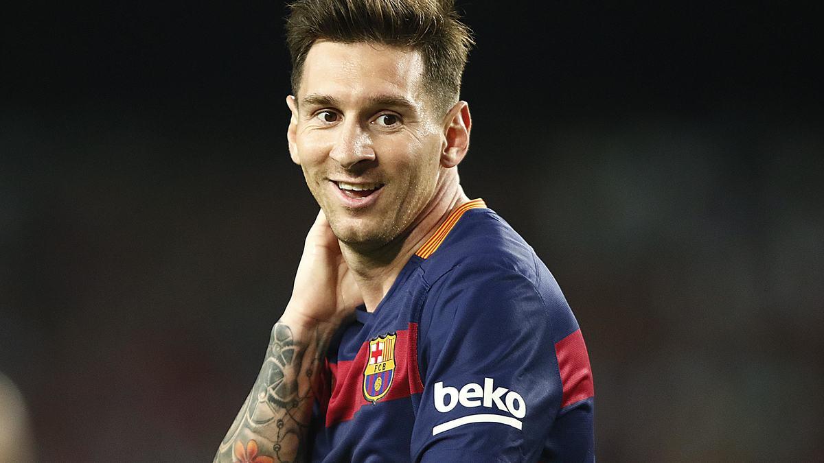 Messi présente son nouveau pyjama… «un peu trop large»