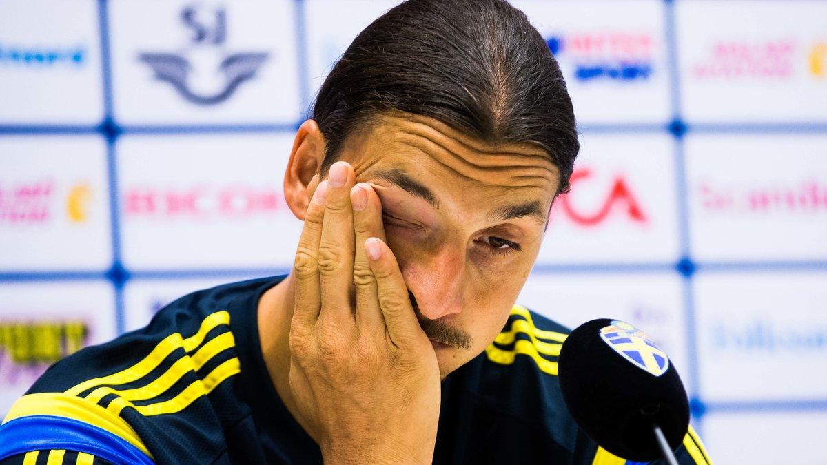 Face à l'inquiétude pour Zlatan Ibrahimovic, son sélectionneur donne des nouvelles