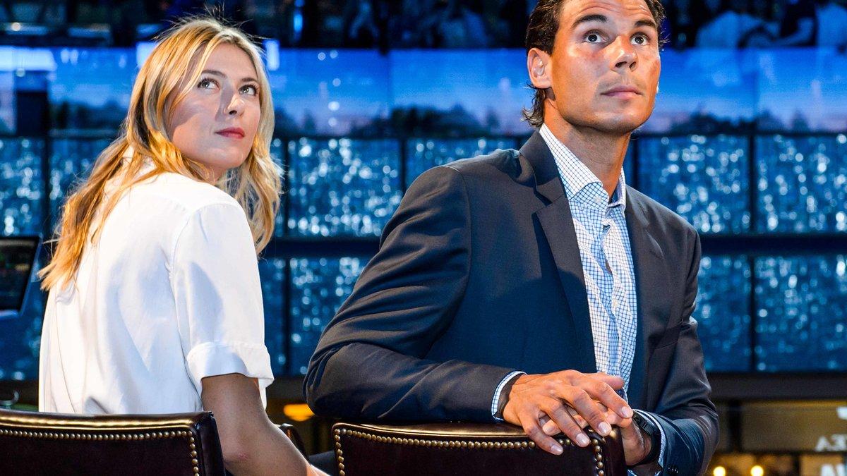 Battu à l'US Open, Nadal peut compter sur… Sharapova