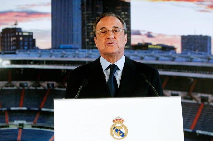 Florentino Pérez tacle les supporters du Real