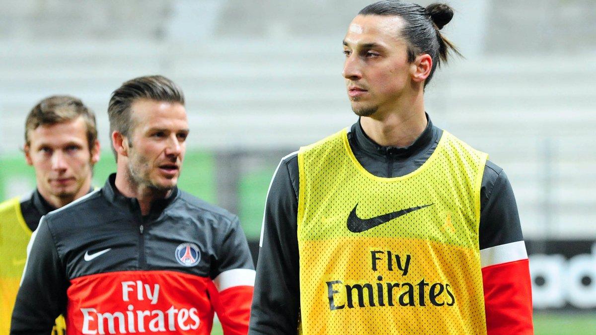 Quand Zlatan Ibrahimovic prend David Beckham en modèle