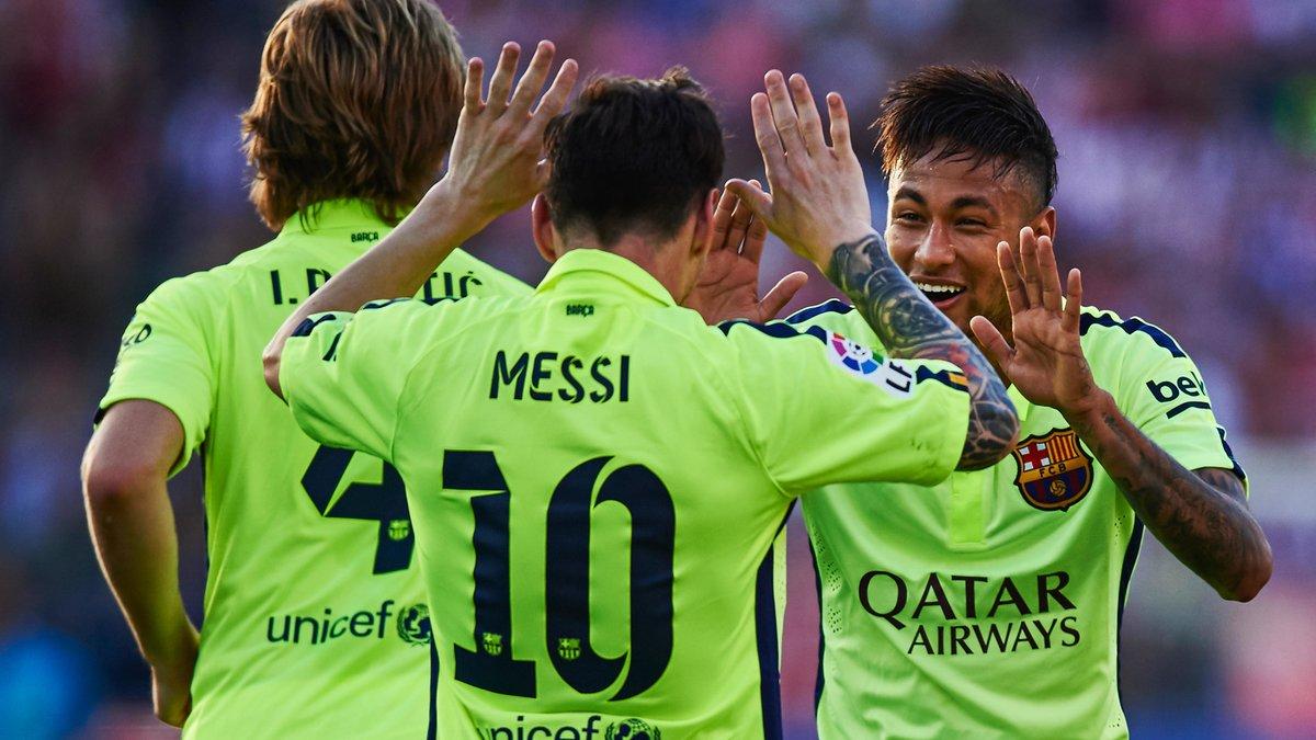 Quand Luis Enrique s'inquiète pour Messi et Neymar