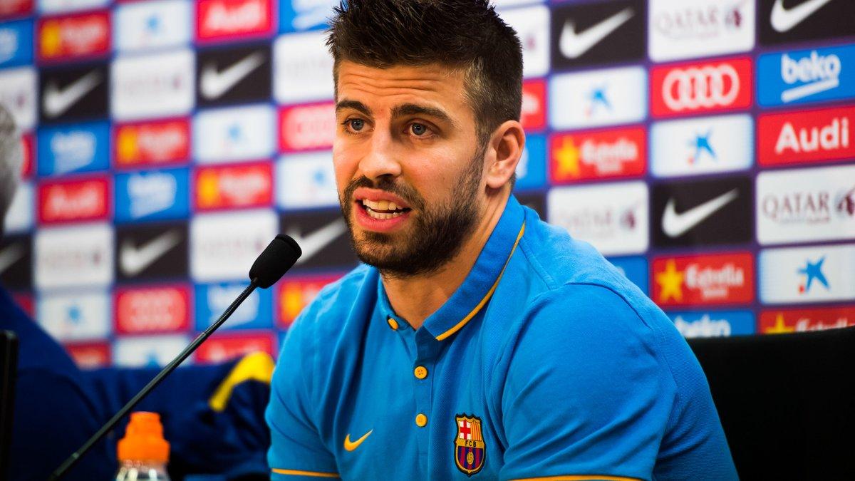 Cette cible du Barça qui monte au créneau pour Gerard Piqué
